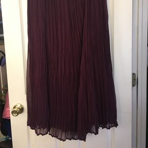 Deep purple CJ banks skirt